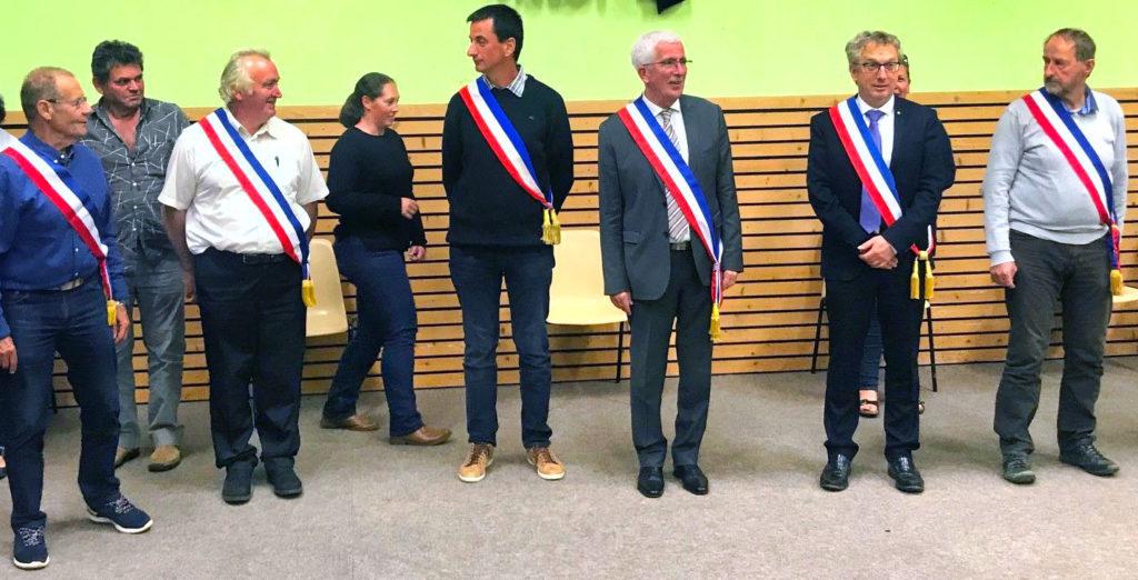 Les 6 maires de Peyre en Aubrac